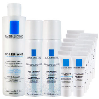 LA ROCHE-POSAY理膚寶水 多容安清潔卸妝乳液組