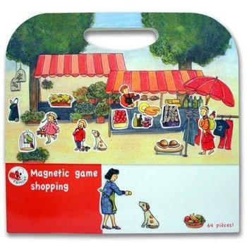 【BabyTiger虎兒寶】比利時 Egmont Toys 艾格蒙繪本風遊戲磁貼書 - 購物市集