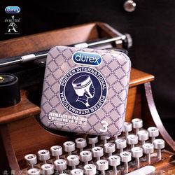 東森旅遊電話Durex杜蕾斯 x Porter 更薄型鐵盒限定版 3入 灰藍格紋
