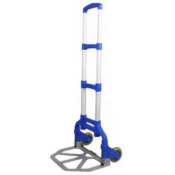 折疊式三節伸縮拉桿手推車/折疊行李購物車(NP0007)