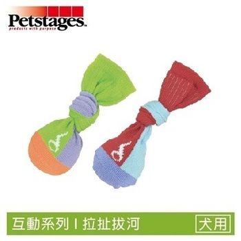 Petstages657 拋接彈力襪子球-S