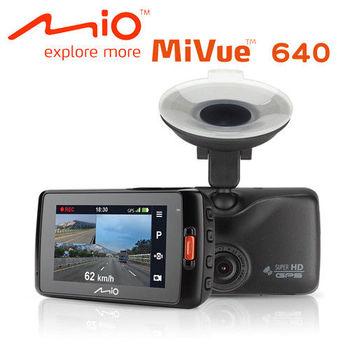 Mio MiVue™ 640 GPS測速+1296P行車記錄器
