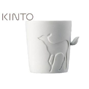 日本【KINTO】Mugtail 童話動物杯-鹿-016241