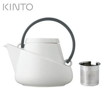 日本【KINTO】Ridge潤沏茶壺-黑-027441
