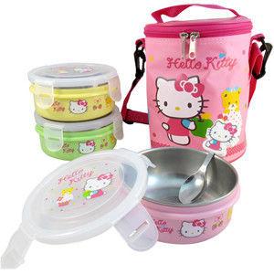 【Hello Kitty】兒童環保餐具組 KS-8213