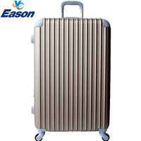~YC Eason~ 流線型20吋可加大海關鎖款ABS硬殼行李箱 ^#40 琥珀金 ^#4