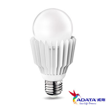 威剛ADATA LED 10W 全電壓 CNS認證 白/黃光 4入