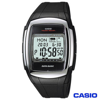 CASIO卡西歐 太陽能備忘錄多功能電子腕錶 DB-E30-1A