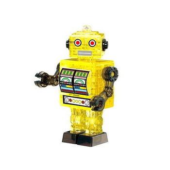 《3D 立體水晶拼圖》復古機器人
