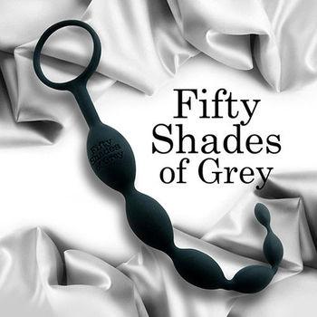 格雷的五十道陰影 歡愉矽膠六連拉珠 肛塞