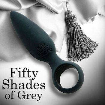 格雷的五十道陰影 水滴型柔軟細膩矽膠肛塞