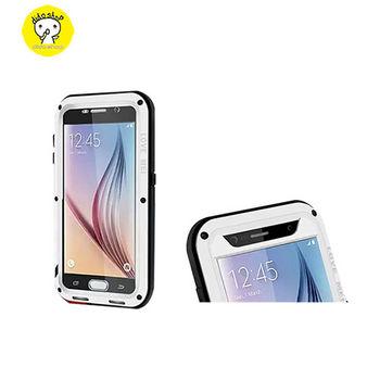 【dido shop】Samsung S6 Love mei 三防手機保護殼 防摔防撞防塵 三星 YC108 【5個工作天到貨】