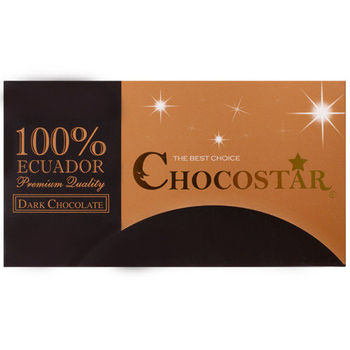 【巧克力雲莊】巧克之星-厄瓜多100%黑巧克力