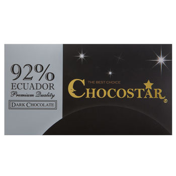 【巧克力雲莊】巧克之星-厄瓜多92%黑巧克力