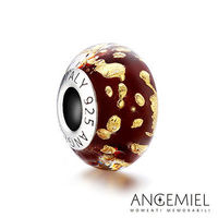 Angemiel安婕米 義大利純銀珠飾 奢華米蘭 琉璃珠