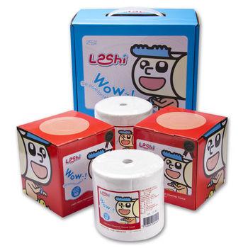 【Leshi樂適】嬰兒乾濕兩用布巾-手提禮盒 400抽