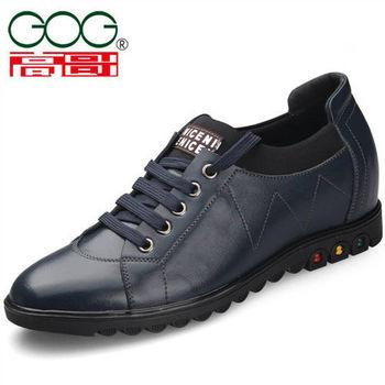 (預購)【JHS杰恆社】201512新品GOG高哥休閑系帶鞋720517增高6.5CM