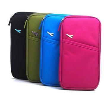 [fun bag]韓版 多功能 手拿包 護照包 護照夾旅行收納包 袋 證件包 卡包 票夾