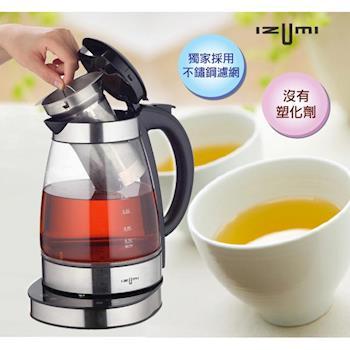 【日本IZUMI】1.7L智慧溫控健康電茶壺TTM-100