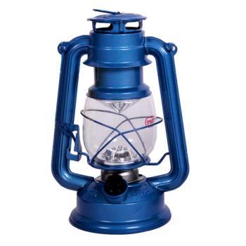 【韓國熱銷】復古油燈型LED營燈(繽紛版) 藍色