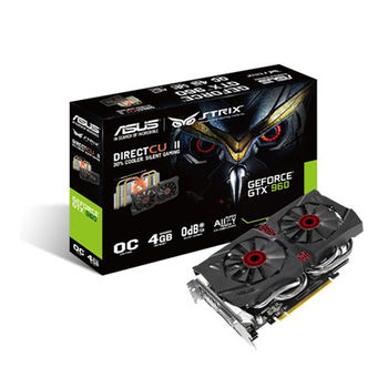 【ASUS 華碩】STRIX-GTX960-DC2OC-4GD5 顯示卡