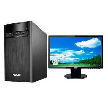 ASUS 華碩 K31CD i3-6100雙核 GT720獨顯 Win10 桌上型電腦+VE198T 19吋 電腦螢幕 超值組