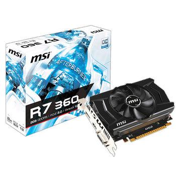【MSI微星】R7 360 2GD5 OC 顯示卡