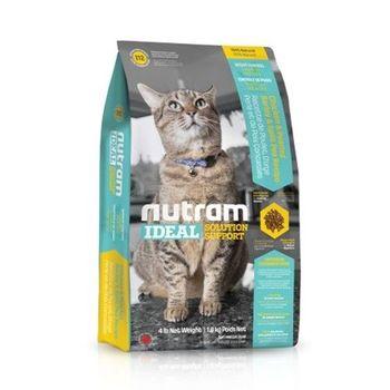 【Nutram】紐頓 專業理想系列-I12體重控制貓雞肉碗豆 1.8公斤 X 1包