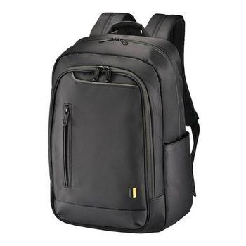 【SUMDEX】 PON-161 BK 16吋 都會商務双肩電腦包 黑色