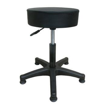 【E-Style】高級精緻皮革-工作椅/吧台椅/電腦椅-固定腳(三色可選)-1入/組