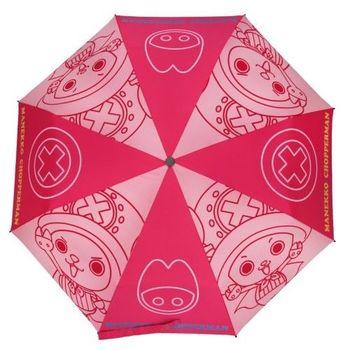 【iumbrella】喬巴超人不透光三折手開傘 三色可選