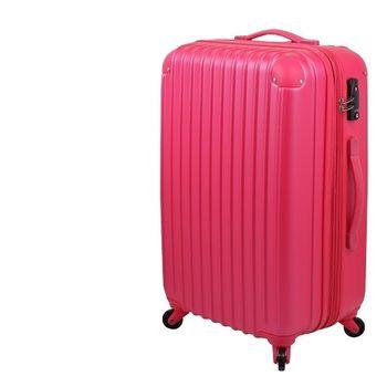 【IBOX TOUR】星彩絢麗-升級版24吋超輕量ABS硬殼可加大防刮霧面行李箱(多色任選)