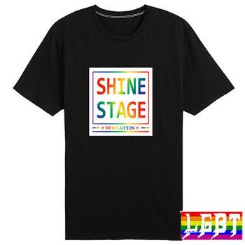 【L.G.B.T】L5016(SHINE STAGE 純棉短T恤)