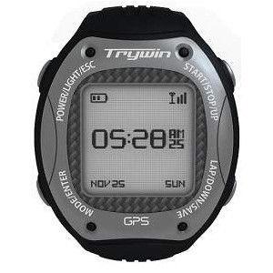 福利品Trywin GPS Watch W3 GPS運動達人腕錶 黑灰色