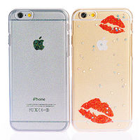 ifive iPhone 6 ^#47 6S自動修護TPU閃粉保護殼 ^#45 香豔紅唇款