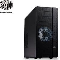 Cooler Master N400 黑化機殼 ^#40 網孔版 ^#41  雙USB3.