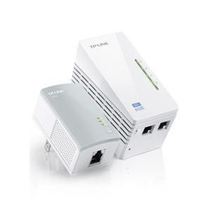 TP-LINK  TL-WPA4220 KIT AV500 Wi-Fi 電力線網路橋接器 雙包組