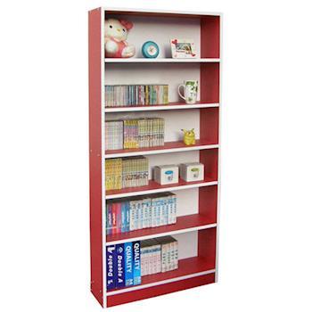 【Dr. DIY】寬80公分[超大型6格]收納櫃/書櫃(三色可選)