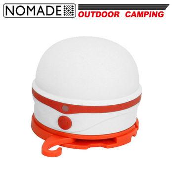 【NOMADE】矽膠LED充電式柔光露營燈(USB充電)燈籠花