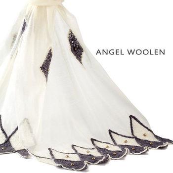 【ANGEL WOOLEN】天使的階梯印度手工披肩