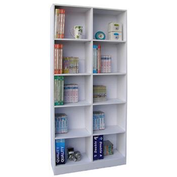 【Dr. DIY】180公分(高)10格[挑高格]書櫃/公文櫃/置物櫃(三色可選)