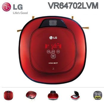 LG 樂金 雙眼小精靈 清潔掃地機器人 (VR64702LVM)紅色