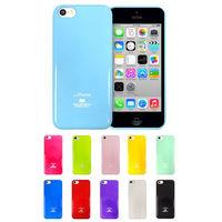 MERCURY Apple iPhone5 ^#47 5s 亮面珠光矽膠套