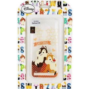 【Disney】Asus ZenFone 2 (ZE500CL) 5吋 Q版系列 彩繪透明保護軟套-奇奇蒂蒂