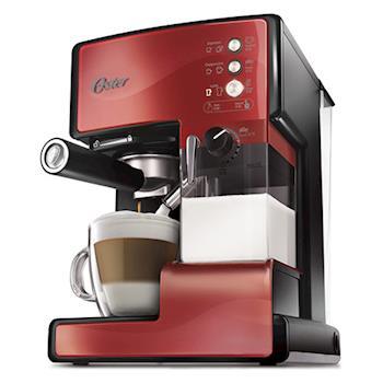 美國OSTER奶泡大師義式咖啡機 PRO升級版(醇酒紅)