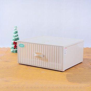 【將將好收納】單抽式抽屜整理箱-34.5L