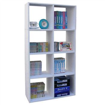 【Dr. DIY】8格書櫃/收納櫃/置物櫃(二色可選)