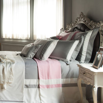 BBL 永恆之約(銀灰)100%萊賽爾纖維(天絲®)雙人四件式床包組