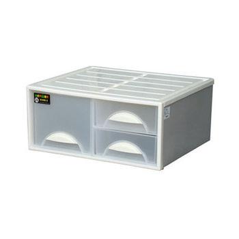 【將將好收納】三格抽屜整理箱-29L