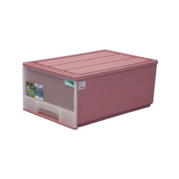 【將將好收納】半透明抽屜整理箱-50L